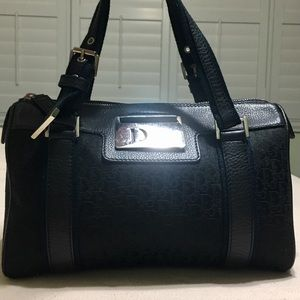 Authentic Christian Dior small tote bag